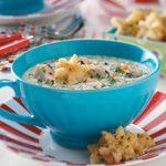 Creamy Chicken Vegetable Soup