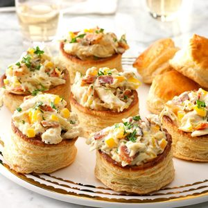 Creamy Chicken Vol-au-Vent