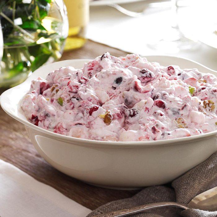 Gluten-Free Creamy Cranberry Salad