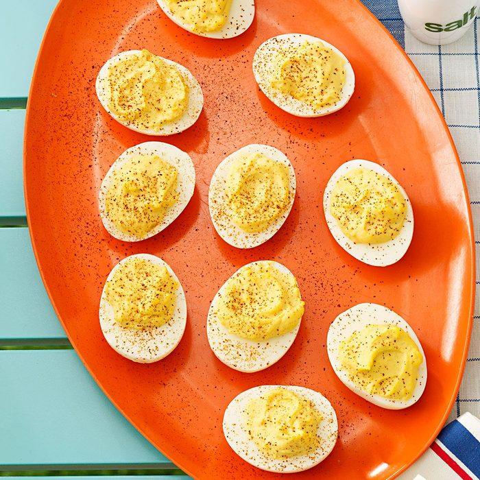 Creamy Herb Deviled Eggs