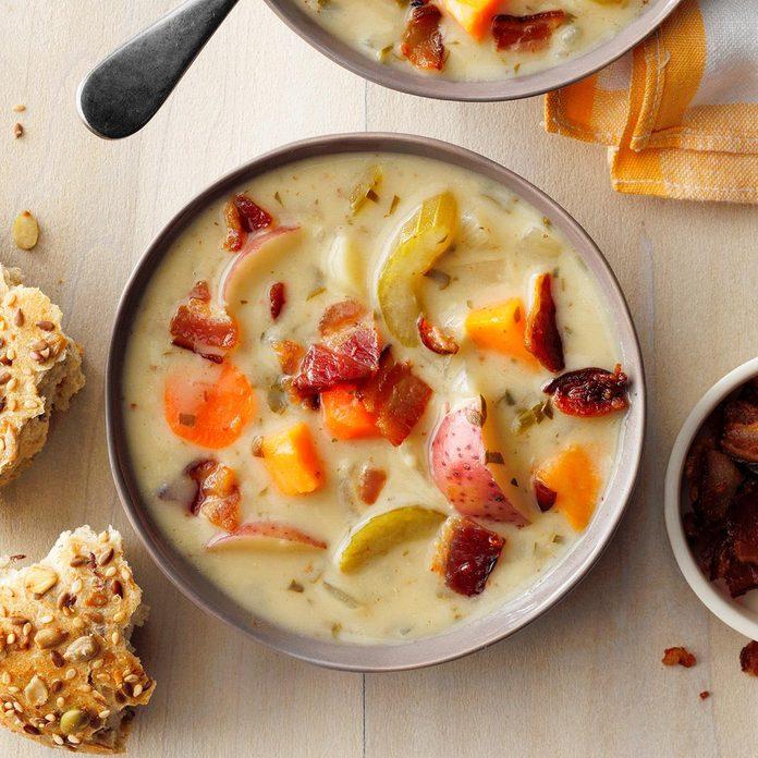 Creamy Vegetable Chowder Exps Ssmz21 50325 E10 13 3b 2
