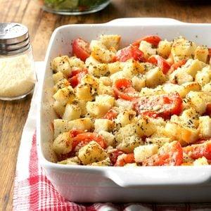 Crouton Tomato Casserole