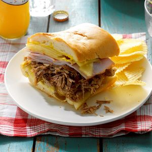 Cuban Pulled Pork Sandwiches