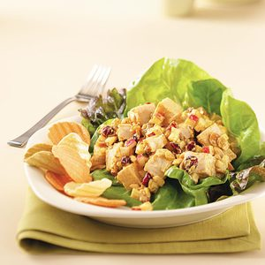 Curried Chicken Salad for Two