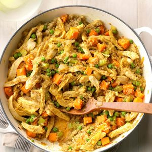Curried Chicken Skillet