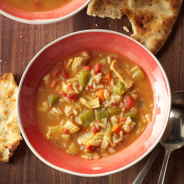 Curried Turkey Soup