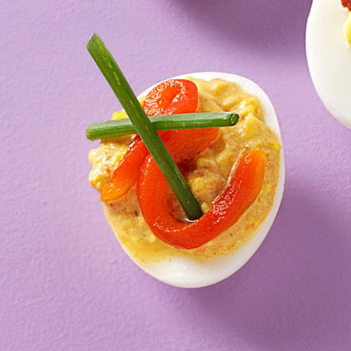 Curry On Deviled Eggs