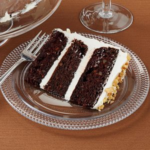 Dark Chocolate Carrot Cake