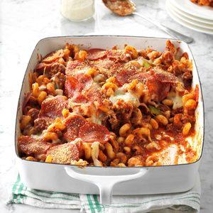 Deluxe Pizza Casserole