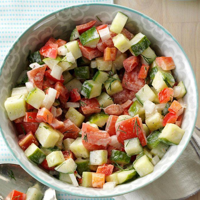 Dill Garden Salad