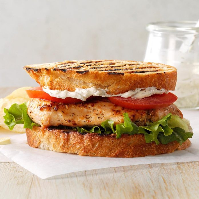 Inspired by: Grilled Chicken Sandwich