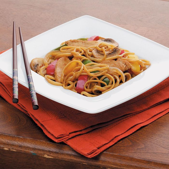 Turkey Lo Mein Stir Fry