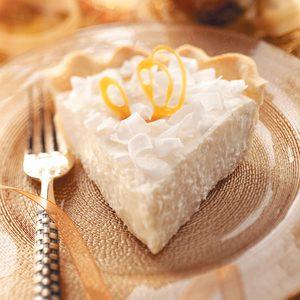 Coconut Chiffon Pie