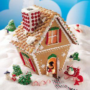 Winter Wonderland Gingerbread Cottage