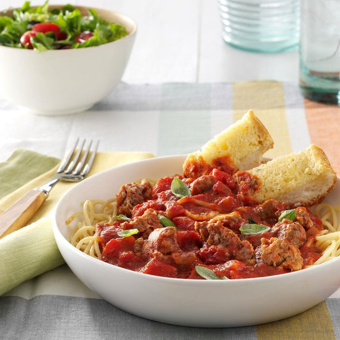 Slow-Simmering Pasta Sauce
