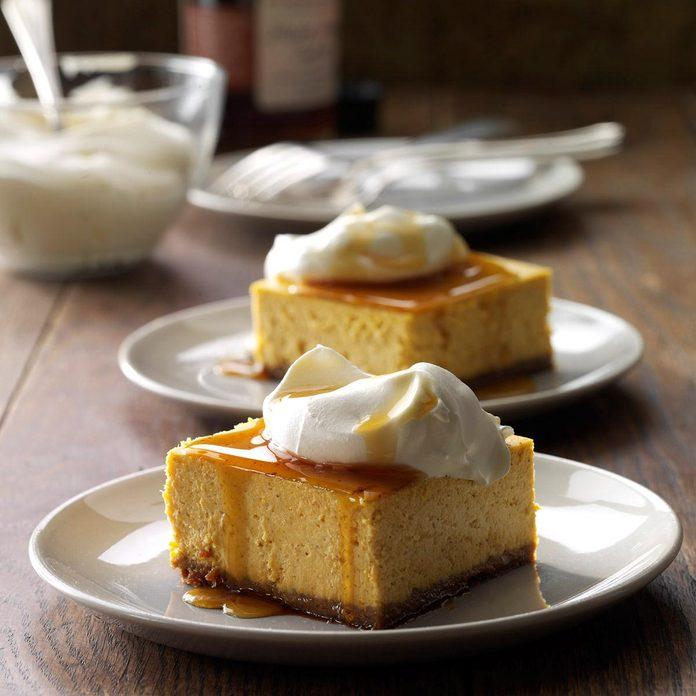 Inspired by: Cheesecake Factory Pumpkin Cheesecake