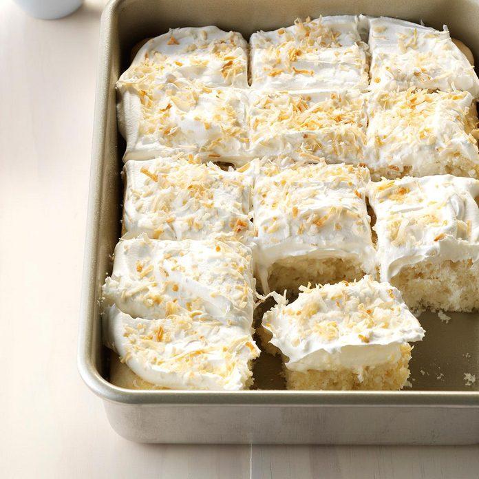 Coconut Cream Cake