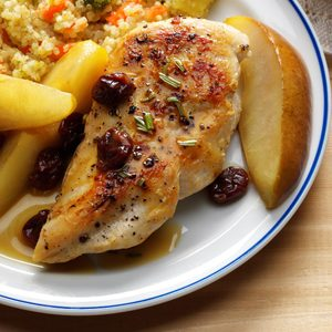 Balsamic Chicken & Pears