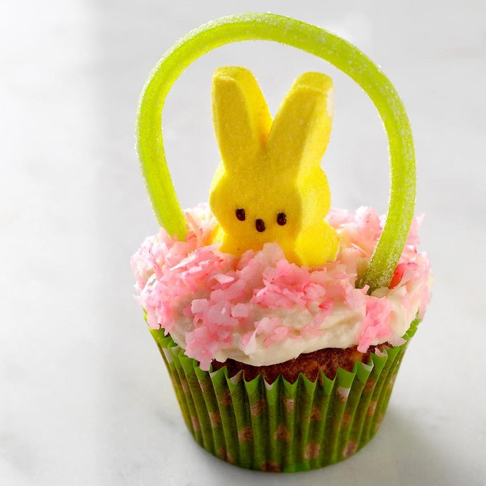 Easter Basket Cupcakes