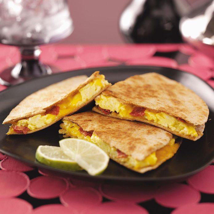 Easy Breakfast Quesadillas