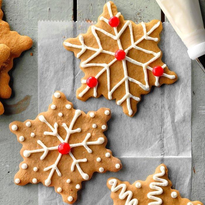 Easy Gingerbread Cutouts