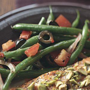 Easy Italian Style Green Beans