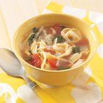 Easy Tortellini Soup