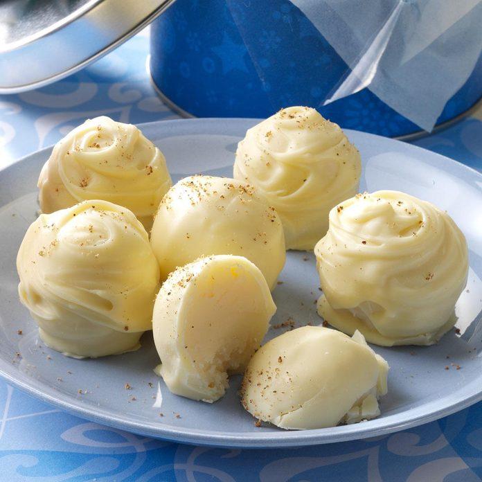 Eggnog Creams