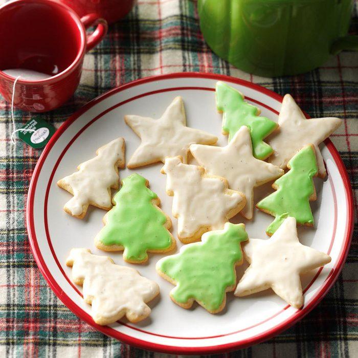Eggnog Cutout Cookies