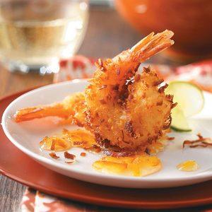 Fast Coconut Shrimp