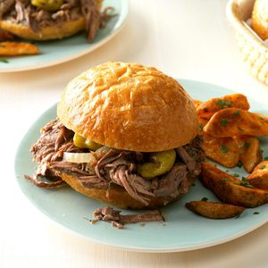 Favorite Italian Beef Sandwiches