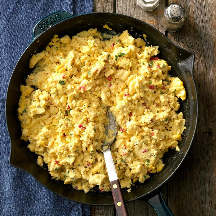 Festive Scrambled Eggs