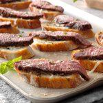 Flank Steak Crostini