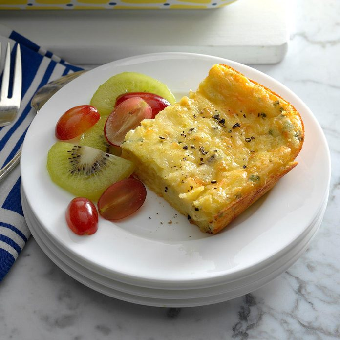 Four-Cheese Baked Eggs