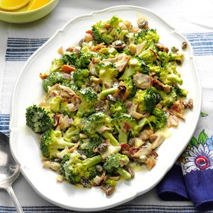 Fresh Broccoli Salad with Lemon