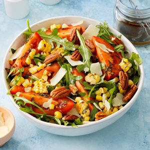 Fresh Corn & Arugula Salad