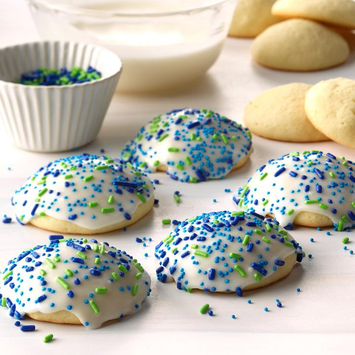 Frosted Anise Sugar Cookies