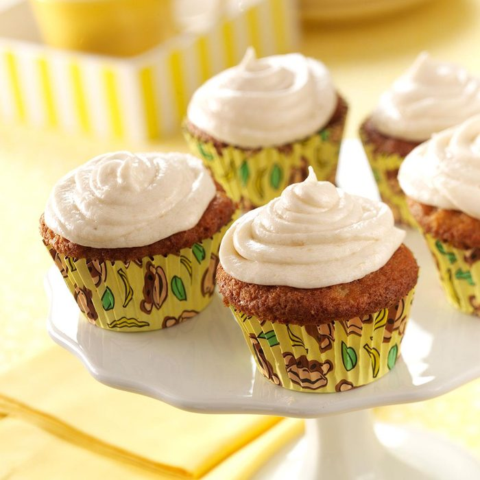 Frosted Banana Cupcakes