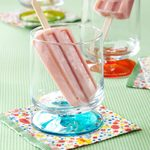 Frozen Yogurt Fruit Pops