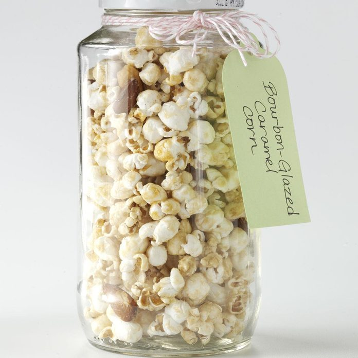 Game-Day Bourbon-Glazed Caramel Corn