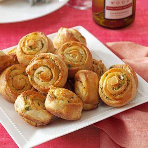 Garlic Bread Spirals
