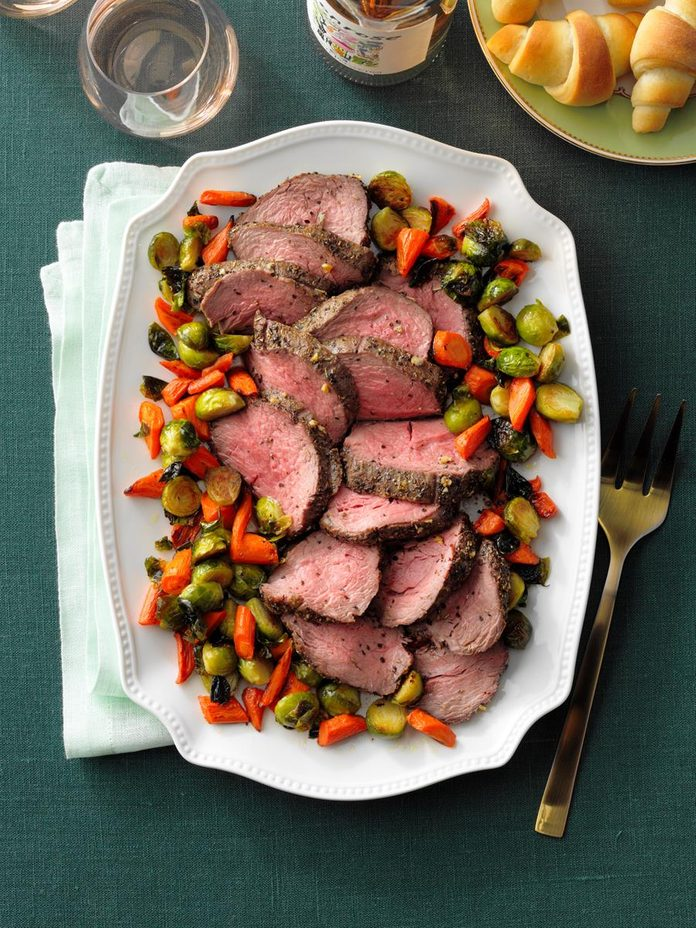 Garlic Herbed Beef Tenderloin