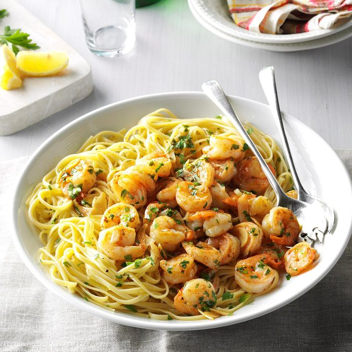 Garlic Lemon Shrimp