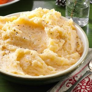 Garlic-Mashed Rutabagas & Potatoes