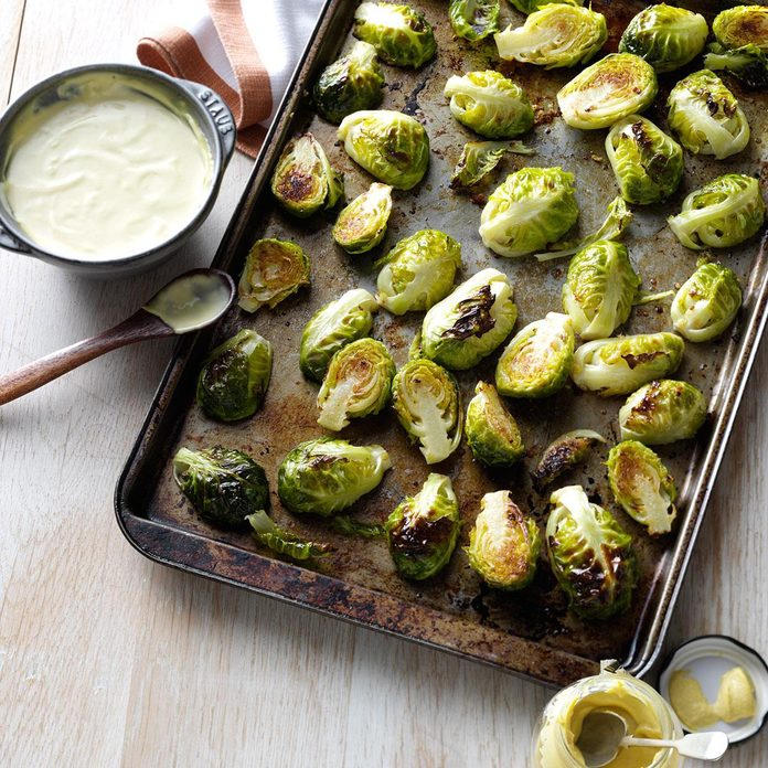 Inspired by Black Angus Roasted Brussels Sprouts