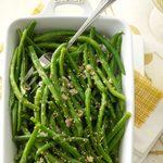 Garlic-Sesame Green Beans