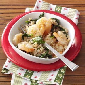 Garlic Shrimp and Rice