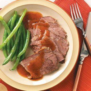 German-Style Beef Roast