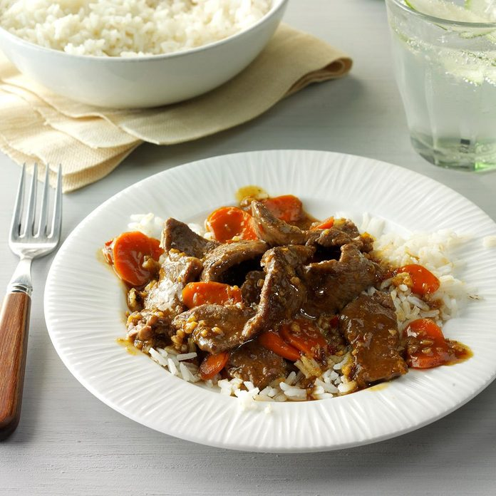 Ginger Beef Stir-Fry