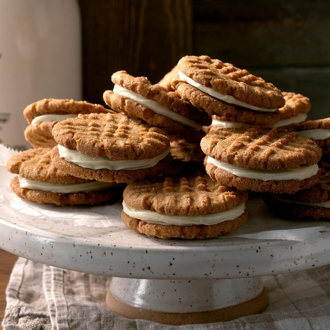 Ginger Creme Sandwich Cookies